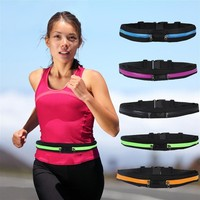 Outdoor Multifunction Pockets Elastic Sports Runners Riding Pockets Waterproof Mobile Phone Anti-theft Package 5colors