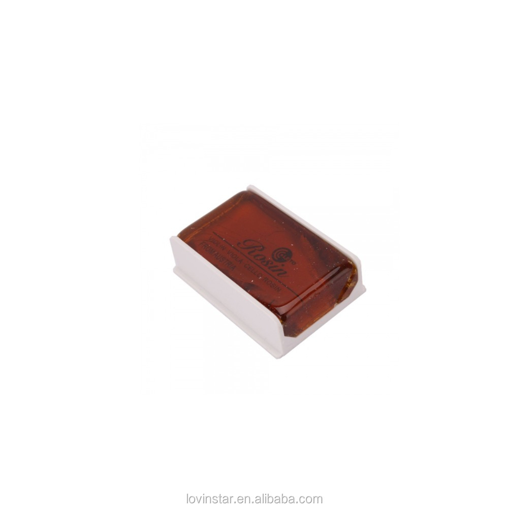 China Musical Instruments Accessories Brown Color Violin Viola Cello Rosin