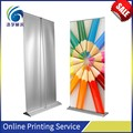 High quality large format banner stand/stand up banner