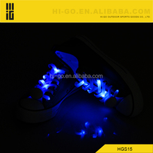 2014 new promotional products novel items led glowing shoelaces Manufacturer