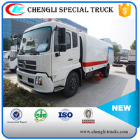 DONGFENG 210hp 4*2 Vacuum Street Dust Suction Road Sweeper Truck