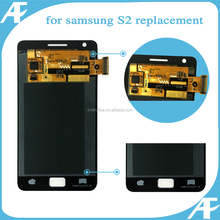 original phone parts touch screen panel display assembly for samsung galaxy s2 lcd factory price