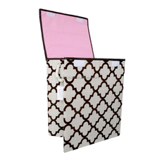 Best selling geometric pattern hamper laundry baskets home use wire storage baskets
