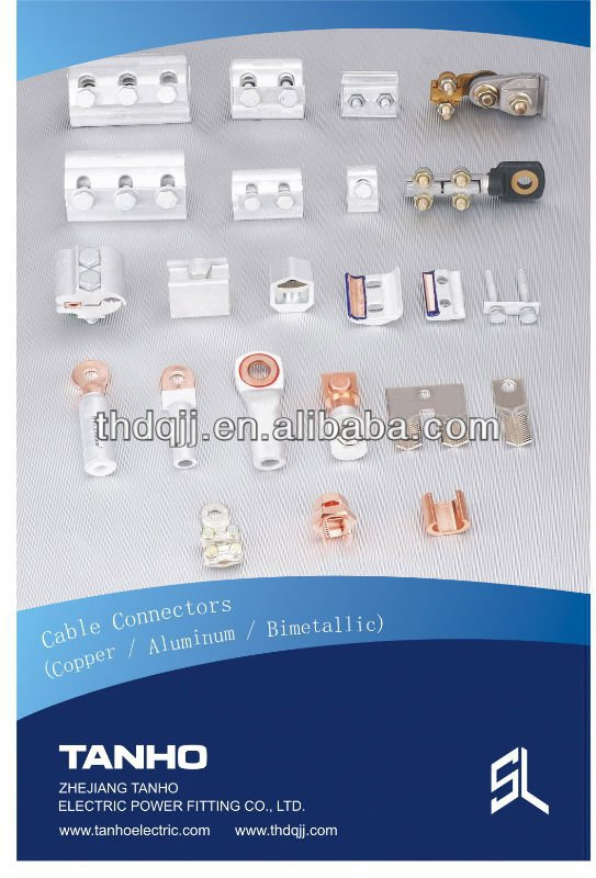 electrical bimetal parallel groove clamp connector