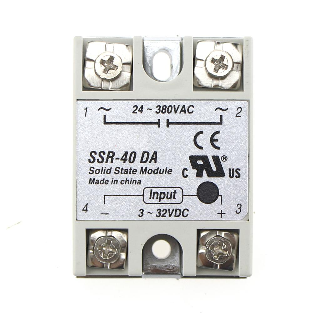 Ssr 40da 40a Solid State Relay Buy Relayrelay Product 230vac On Alibabacom