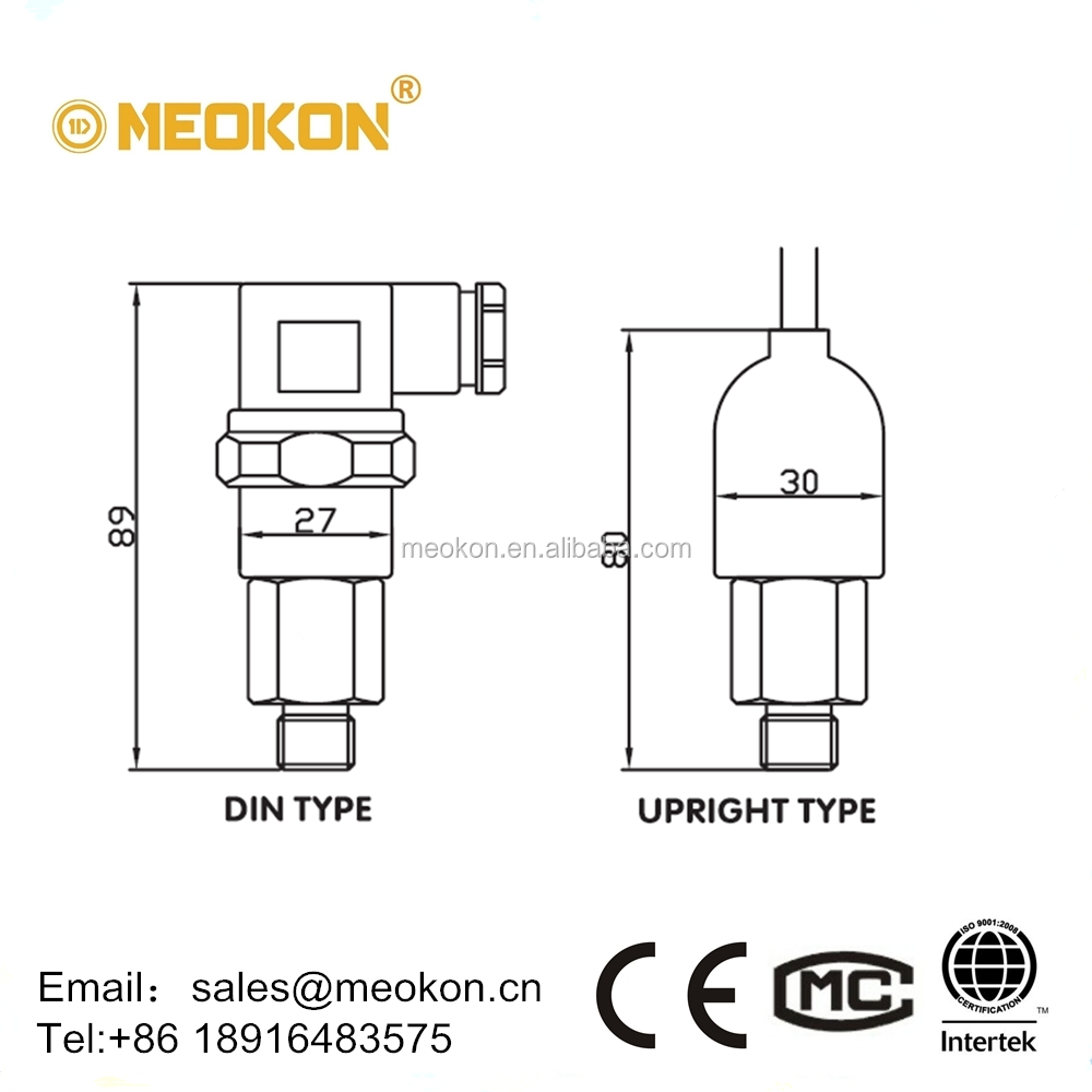 MD-S700 Water Oil Gas Mechanicall Pressure Switch