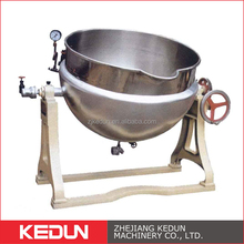 Outdoor Steam Heating Hygienic Electric Cooking Double Jacket Kettles