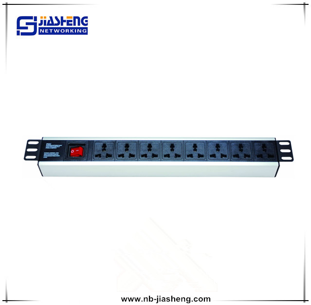 8-outlet USA-type PDU