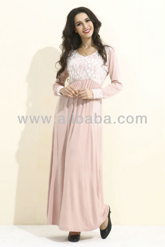 Long Sleeve Maxi Dress FJ0005