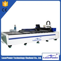 Cost Effective Gantry Type Big Work Table Metal Cutting CNC Fiber Laser Cutting Machine Price