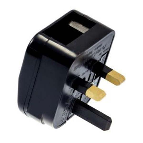 Factory price schuko outlet plug adapter plug converter eu to uk plug adapter