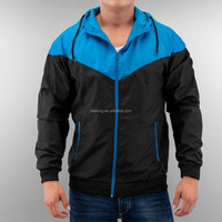 Cheap Custom light weight color block wind jacket