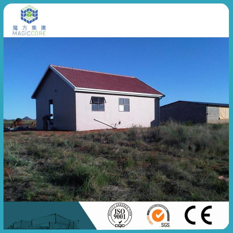 certification modern design economicprefabricated house price small holiday house ready to build house