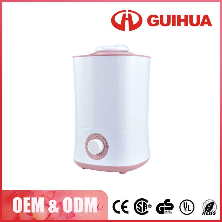 China Best 4L portable desk water vaporative humidifier