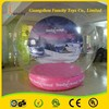 High quality Inflatable giant Human Xmas decorations Snow Globe