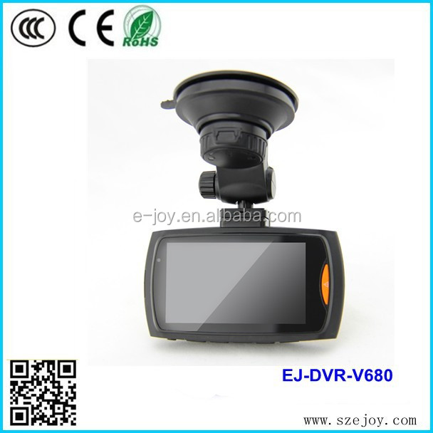 New product 1080p car dvr video recorder with G-sensor function and wide angle V680