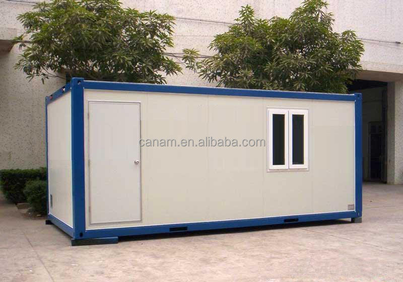 Welded Waterproof Steel Prefab Container House