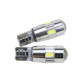 T10 car led door light 12v smd Fog light turning light brake light tail lamp