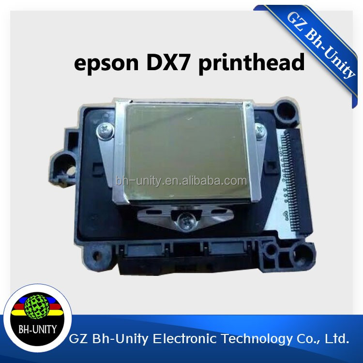 100%original!!wit color ultra 9200 solvent printer parts for e pson dx7 head on selling