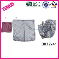 New Design Tudung Satin Polyester Square Scarf Triangular Scarf