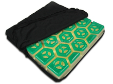 Drive Medical Deluxe Skin Protection Gel Wheelchair Seat Cushion, forever comfy cushion, high density foam seat cushion