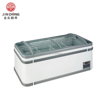 Double top doors chest freezer /chiller /single temperature