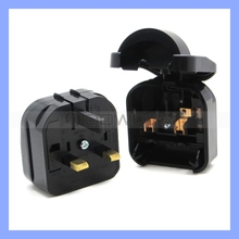 Promotional Gift World Travel Plug European Style Plug Adaptor Universal High Power 10A UK to European Plug