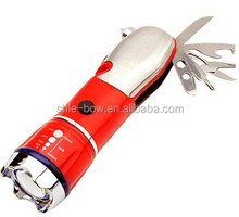 Cutter & Emergency Escape Tool. Keep Your Family Safe! 5-in-1 LED Flashlight, Window Breaker, Emergency Tool Vehicle Survival