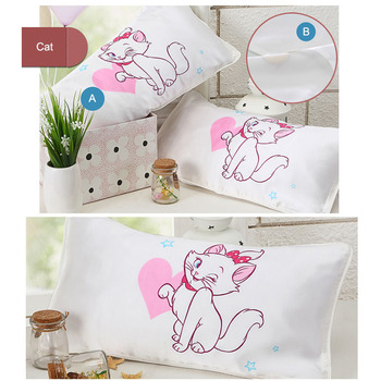 100%silk sublimation printed silk cushion silk pillow Baby cushion covers