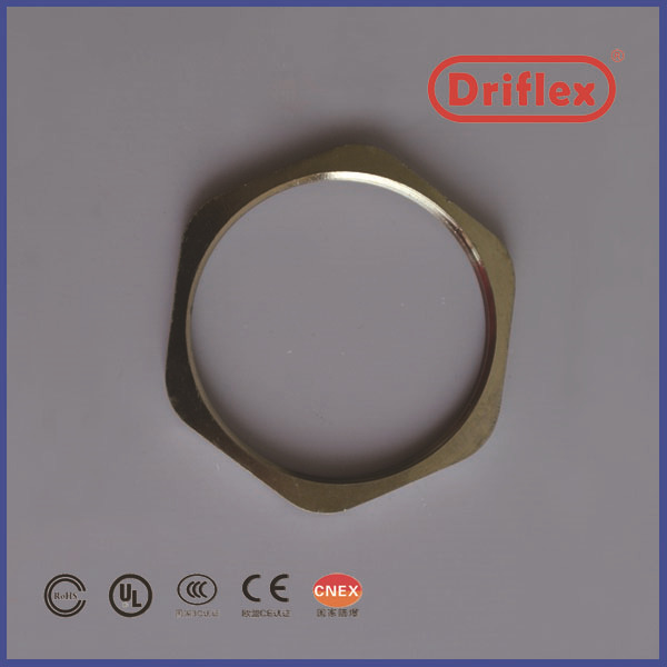 Zinc plated steel back nut with good quality