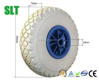 10 inch pu foam boat trailer wheel trailer trolley wheels 3.00-4