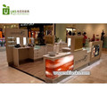 Hot sale customized mall cosmetic shop furniture with cosmetic display cabinet service