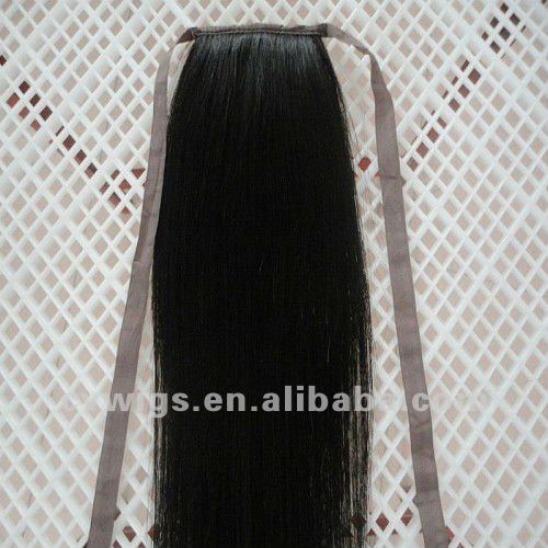 Human Hair Ponytail Extension For Black Women
