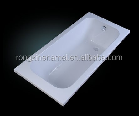 RONGXIN bathtub enamel steel bathtub new style with competitive price