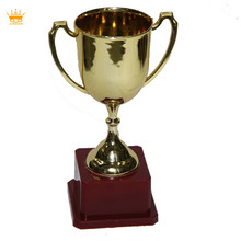 Plated mini plastic trophy, funny custom trophies