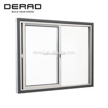 Residential & Commerical Customized Size Aluminium Sliding Windows Australian Standard