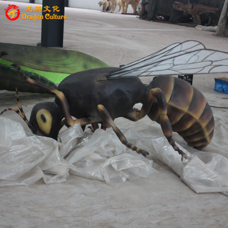 children games simulation animatronic insects of cute bee