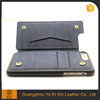 Good sale custom supply pu leather wallet flip phone case cover for iphone 6s 6plus 7 7plus
