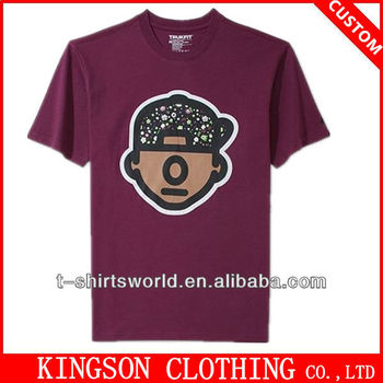 Professional custom tee shirts printing company logo buy for T shirts for business logo