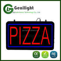 Alibaba New Advertising Signboard PIZZA Letters Neon Signs