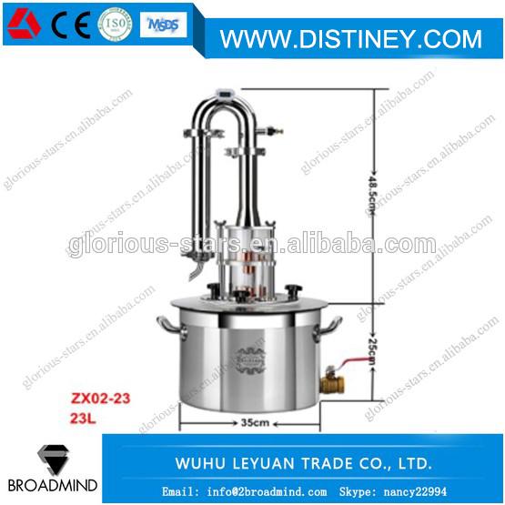 6045F-Bricolaje Luna etanol inoxidable 18 L espíritus (alcohol ...