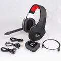 Multi-functions LED logo light wireless gaming headset digital wireless gaming detachable mic headphones for PS4 Xbox one