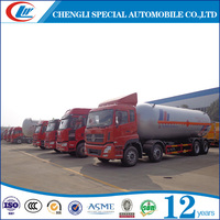 CLW 8*4 Heavy Duty Cooking Gas Delivery Truck for Africa