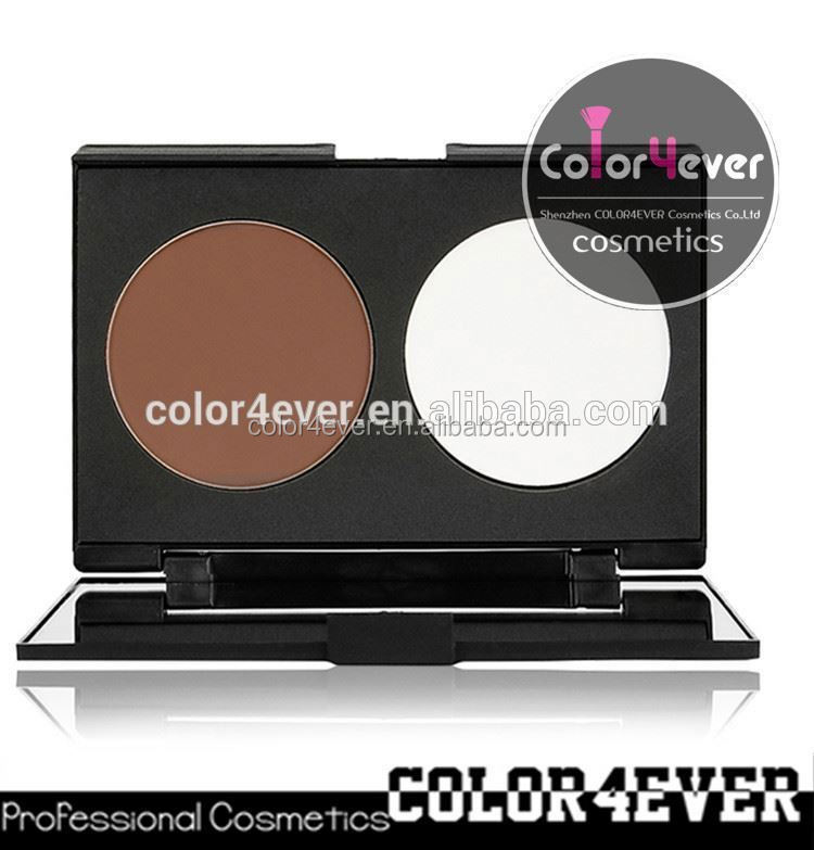 Wholesale Double Colors Contour Blusher Face Powder Palette Set contour palette