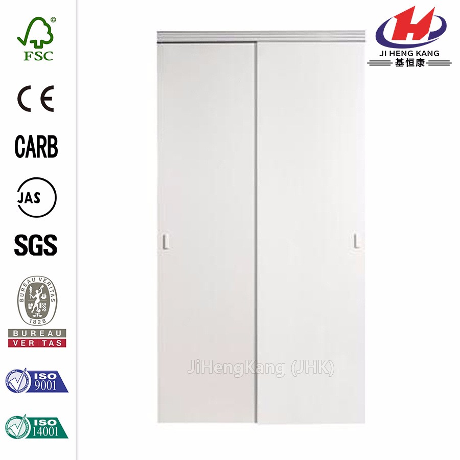JHK-G01 Automatic Home Depot Commercial Recessed Panel Door 2 Panel Interior Security Sliding door