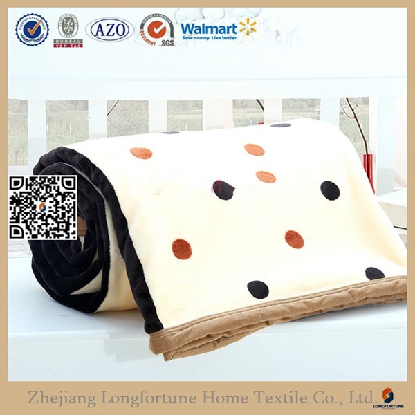knitted and woven pa fabric flannel fleece blanket export to south africa