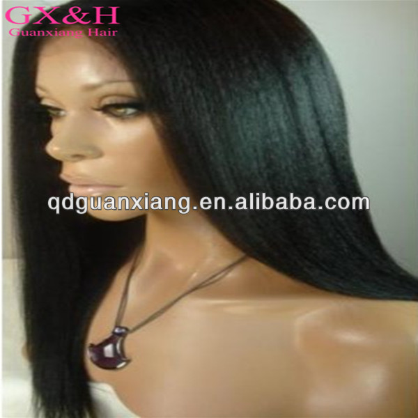 2014 New products brazilian hair top quality high density straight natural color 8-24inch glueless full lace wigs