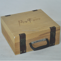 Custom wooden wine gift box/Wooden boxes for wine glasses