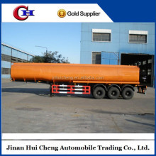 China fuel tank truck flow meter trailer for sale