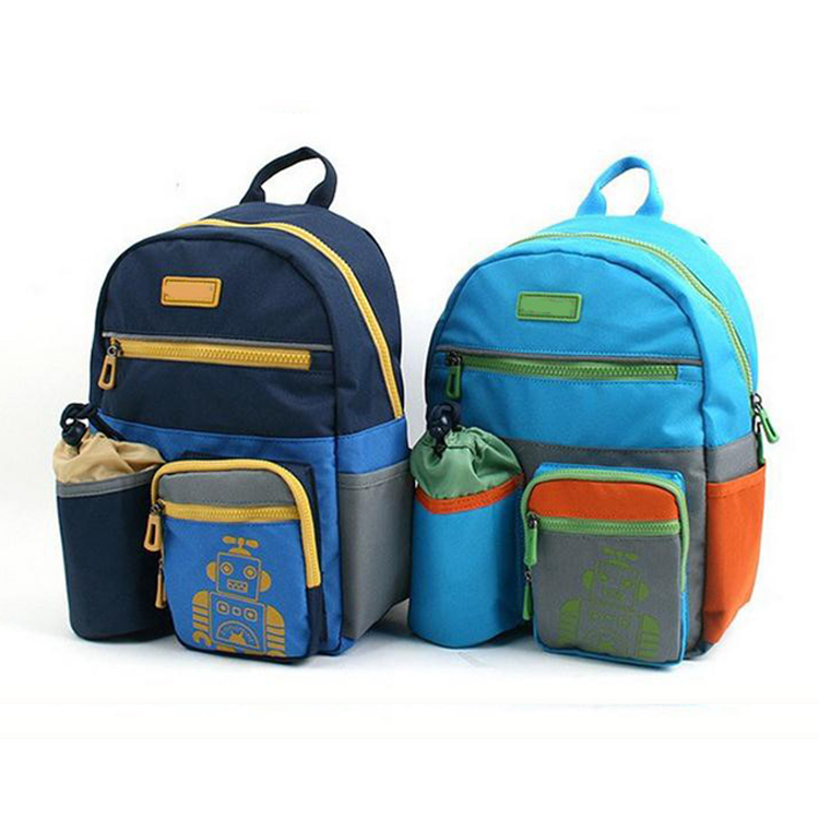 New Design School Bag For Kids Factory Sale Child School Bag With Bottle Compartment
